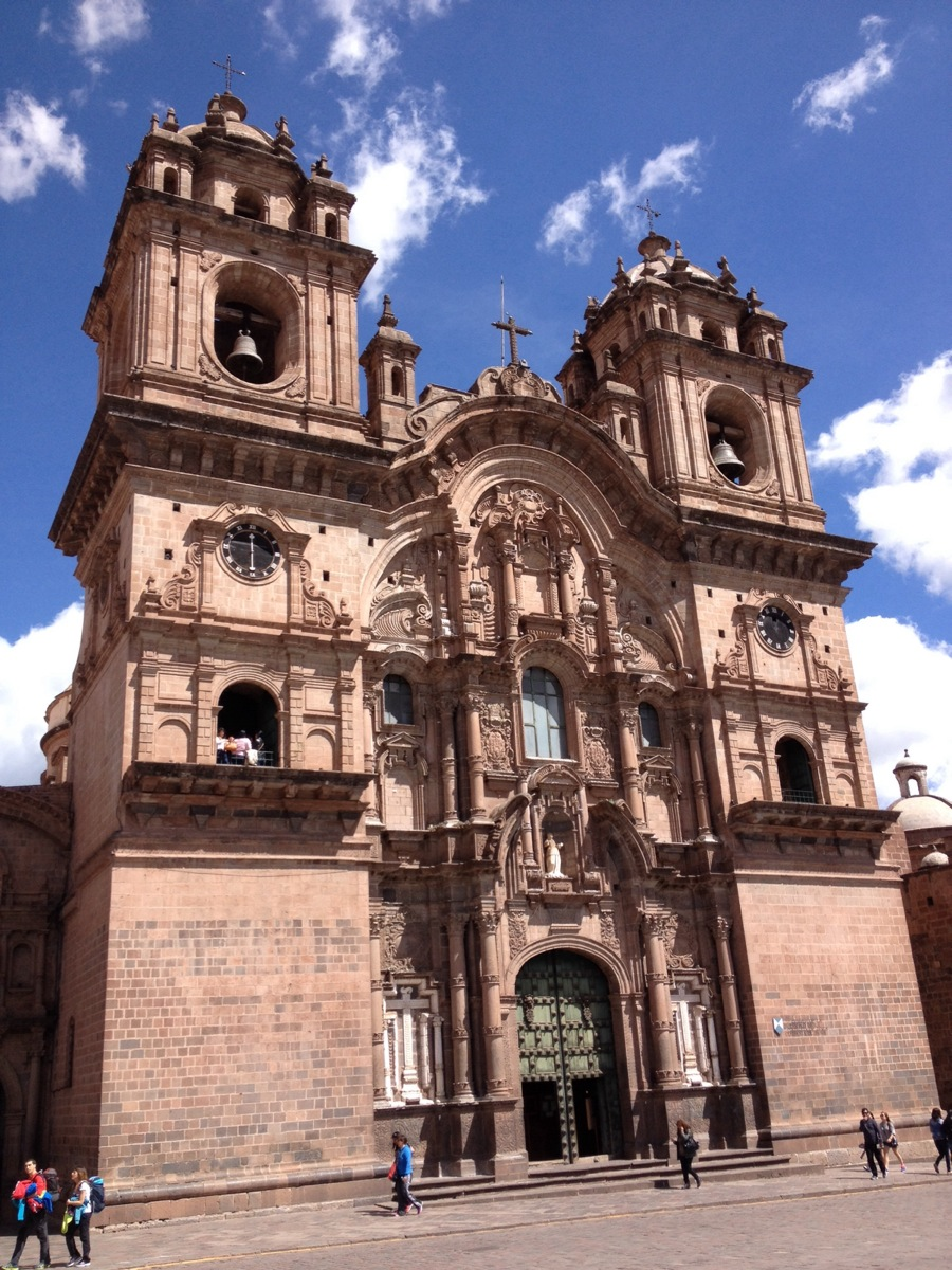 Cusco, the ancient capital of Inka's Empire, Peru